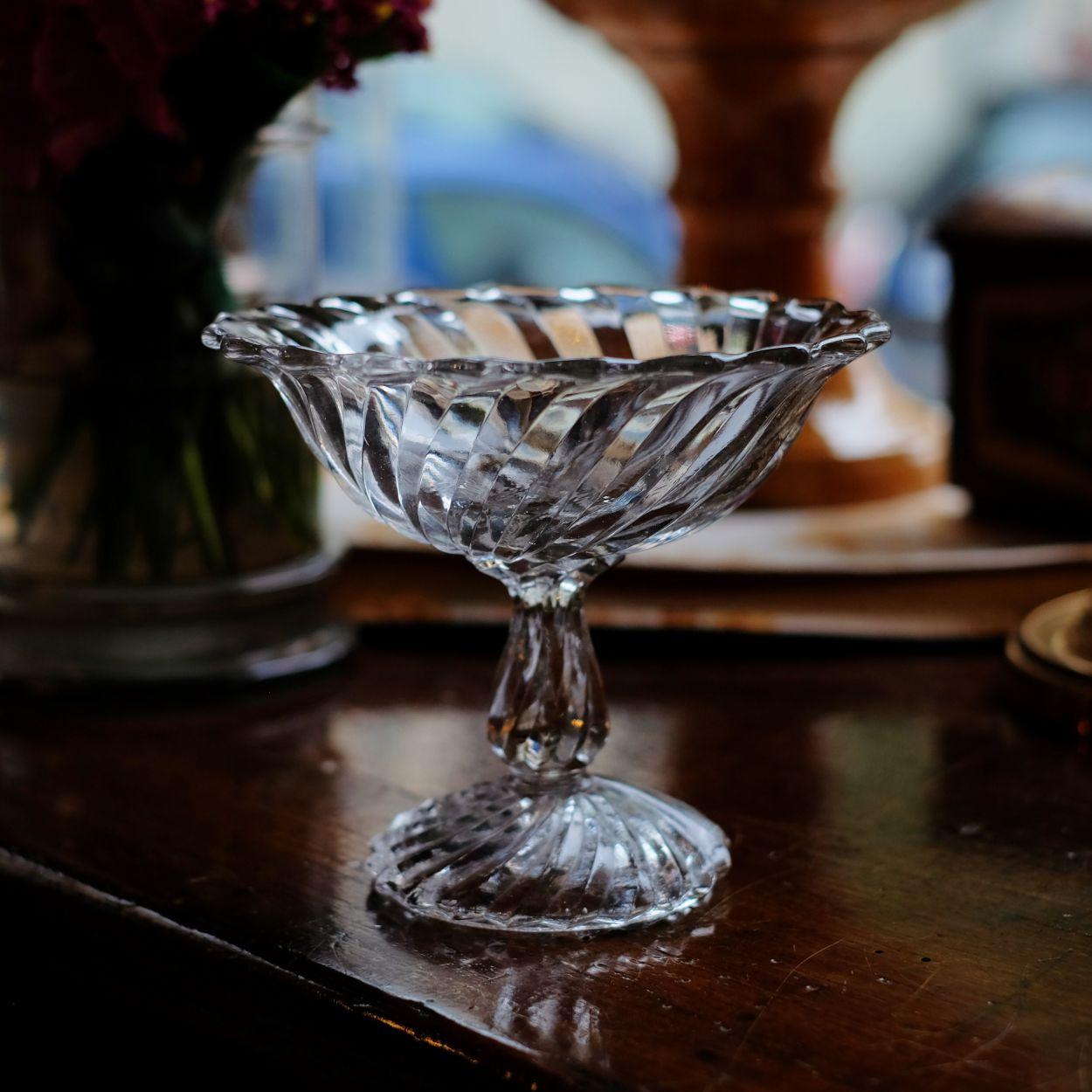 Alzatina in vetro per frutti di bosco ~ Fané Decorations ...